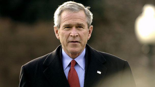 PHOTO: President George W. Bush walks towards microphones to speak to the press, Dec. 22, 2005 at the White House. (Mandel Ngan/AFP via Getty Images, FILE)