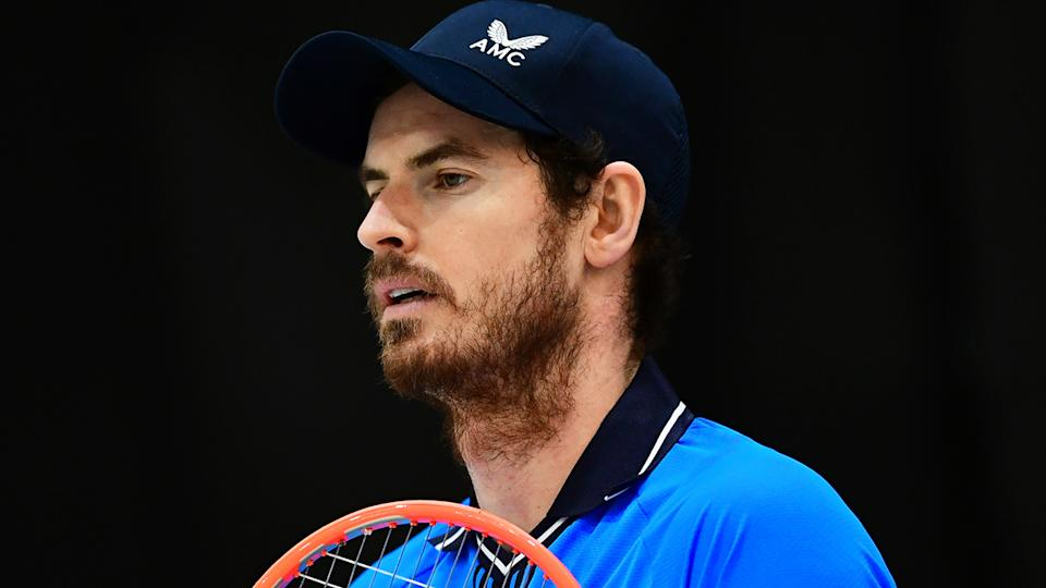 Andy Murray was so disappointed to miss the Australian Open that he was unable to bring himself to watch any of the grand slam. (Photo by Andrea Bruno Diodato/DeFodi Images via Getty Images)
