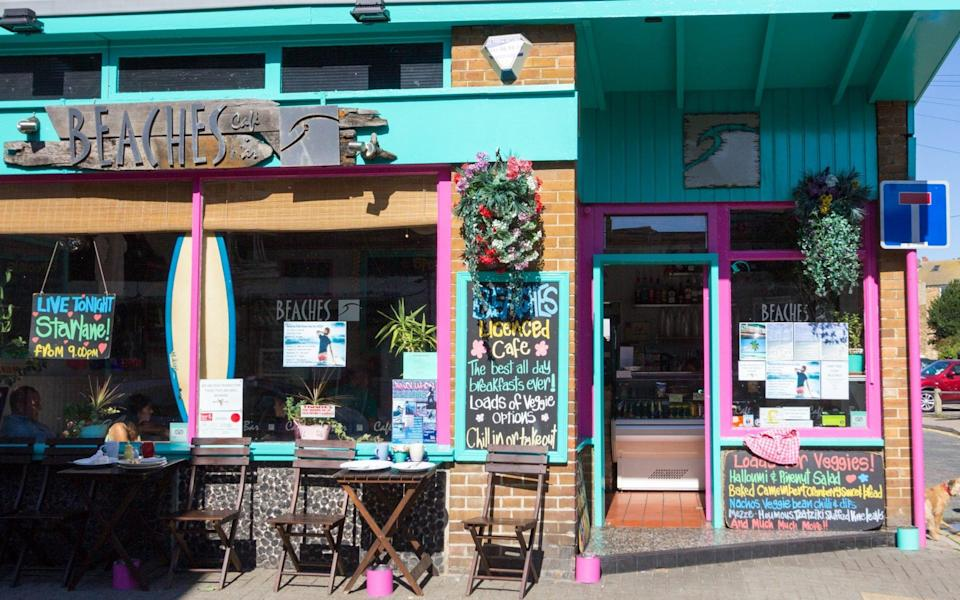 Beaches Restaurant in Broadstairs, Kent - Moonstone Images/Getty