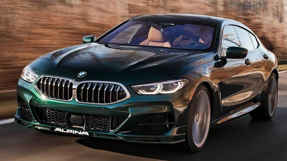 BMW Alpina B8 Gran Coupe, with 612hp V8 engine, revealed