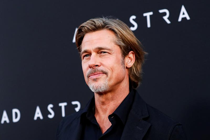"Cast member Brad Pitt poses at the premiere for the film ""Ad Astra"" in Los Angeles, California, U.S., September 18, 2019. REUTERS/Mario Anzuoni"