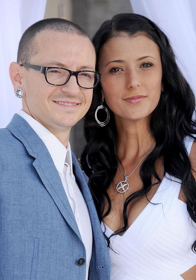 Chester's wife Talinda opened up about losing her husband. Source: Getty