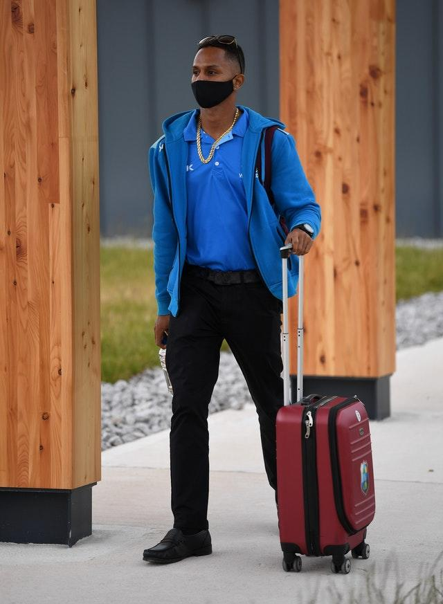 West Indies Cricket Team Arrive For England Test Series