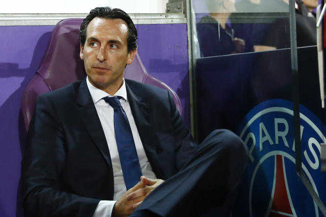 Unai Emery appears to be on the way out at PSG