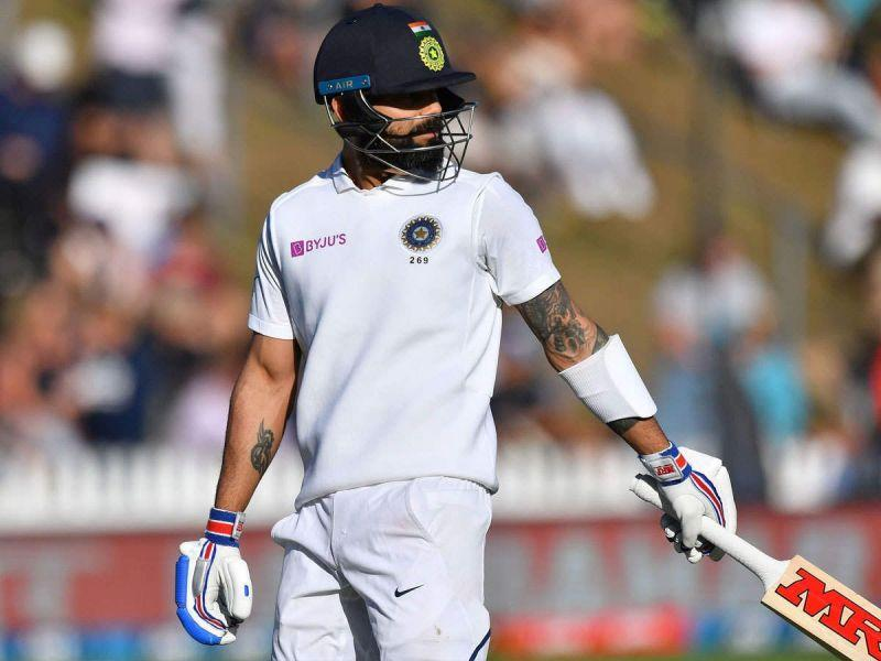 Virat Kohli failed to cross 20 runs in both the innings of the first Test.