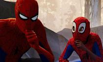"""<p>A spectacular visual feast that manages to make the familiar feel fresh again. Not only the best superhero film in a year of excellent superhero films but <a rel=""""nofollow"""" href=""""https://uk.movies.yahoo.com/spider-man-spider-verse-best-reviews-spider-man-movie-ever-140259851.html"""" data-ylk=""""slk:the best 'Spider-Man' movie of all time;outcm:mb_qualified_link;_E:mb_qualified_link;ct:story;"""" class=""""link rapid-noclick-resp yahoo-link"""">the best 'Spider-Man' movie of all time</a>. (Amon Warmann) </p>"""