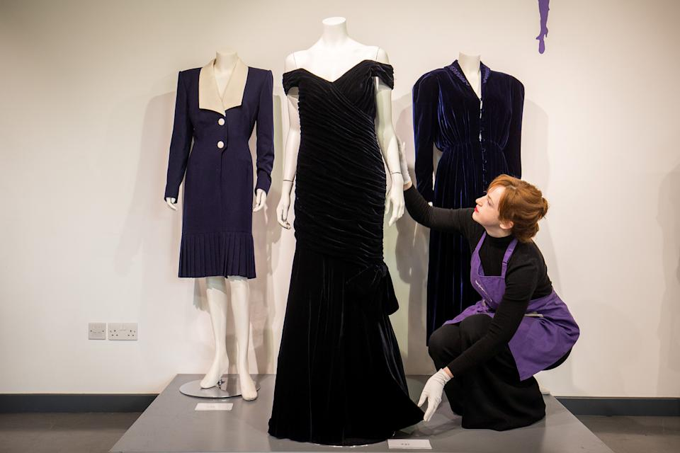 Kerry Taylor Auctions will auction off the gown. [Photo: SWNS]