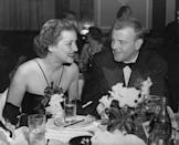 <p>Davis and her second husband, Arthur Farnsworth, are shown here. The year after this photograph was taken, Farnsworth collapsed suddenly while walking along a Hollywood street, and died two days later from what was revealed to be the after-effects of a previous skull fracture.</p>