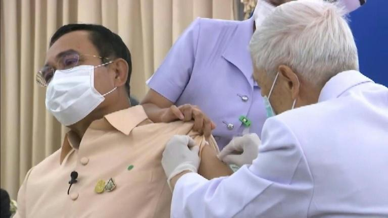 Thai PM Prayut Chan-O-Cha receives first dose of AstraZeneca vaccine