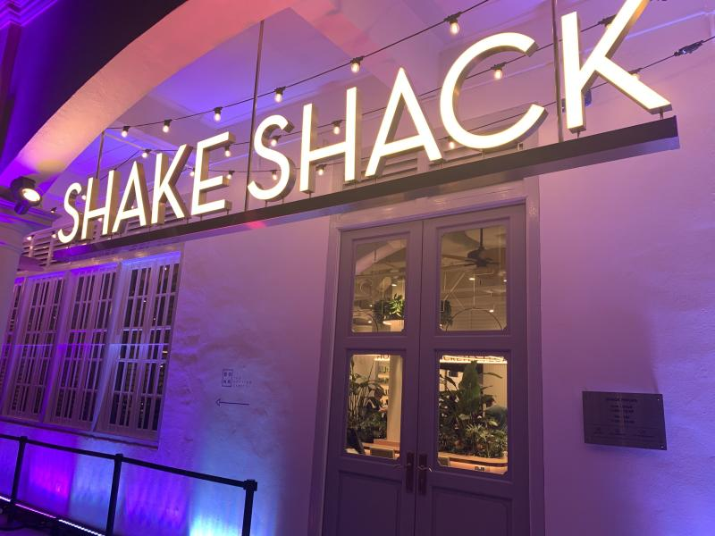 Shake Shack's restaurant on Neil Road in Singapore. (Photo: Teng Yong Ping/Yahoo Lifestyle SEA)