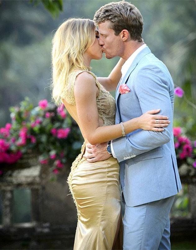 Richie picked Alex as his winner on The Bachelor last night. Source: Channel 10