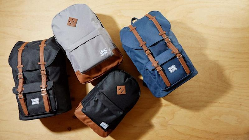Save up to 30% on popular Herschel bags.