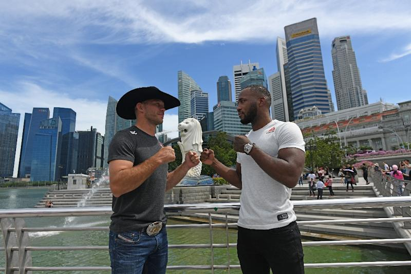 "Donald 'Cowboy' Cerrone of the US had hoped to claim the standalone record for most wins in UFC history, but was beaten by British fighter Leon ""Rocky"" Edwards"