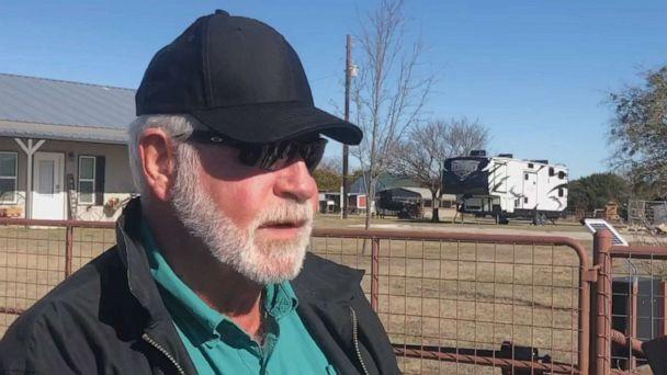 PHOTO: Jack Wilson, a former reserve sheriff's deputy, speaks of how he fatally shot a man who opened fire with a shotgun killing two parishioners inside the West Freeway Church of Christ in White Settlement, Texas, on Dec. 29, 2019. (ABC News)