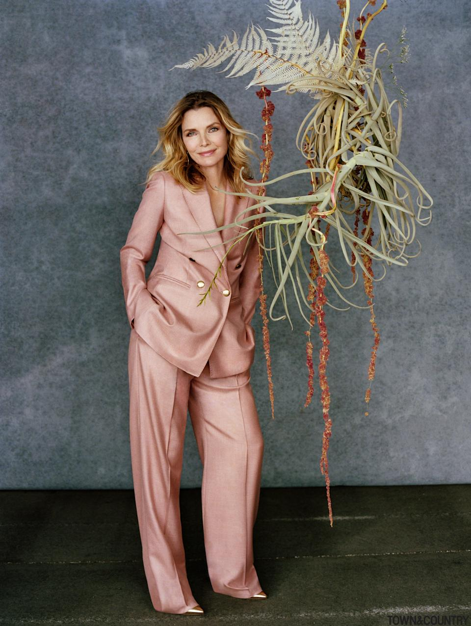 Michelle Pfeiffer talks leaving and coming back to Hollywood. (Photo: Shaniqwa Jarvis/Hearst Corporation)