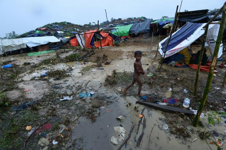 Just under half of Rakhine's Rohingya population has poured into Bangladesh, where they now languish in one of the world's largest refugee camps