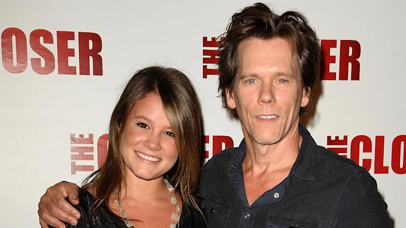 Sosie Bacon and father Kevin Bacon