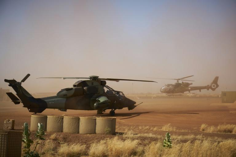 In June this year, President Emmanuel Macron announced a reduction in France's anti-jihadist Barkhane force in the Sahel after more than eight years of military presence (AFP/MICHELE CATTANI)
