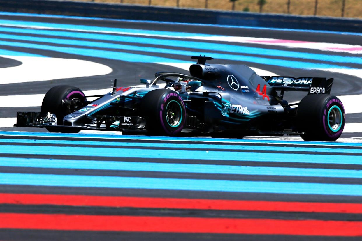 <span>Have we painted enough stripes? The Circuit Paul Ricard is nothing if not colourful</span>