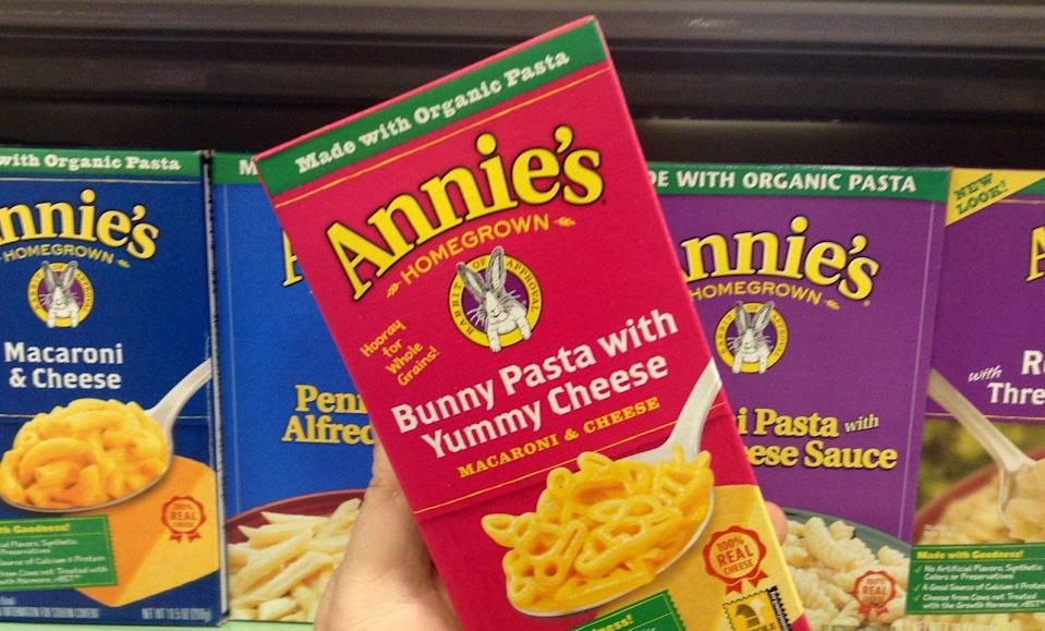 <p>You can save a few bucks on name-brand items like Annie's Mac and Cheese or Kashi cereal when you present coupons at the register, so make sure to stash them in your wallet!</p>