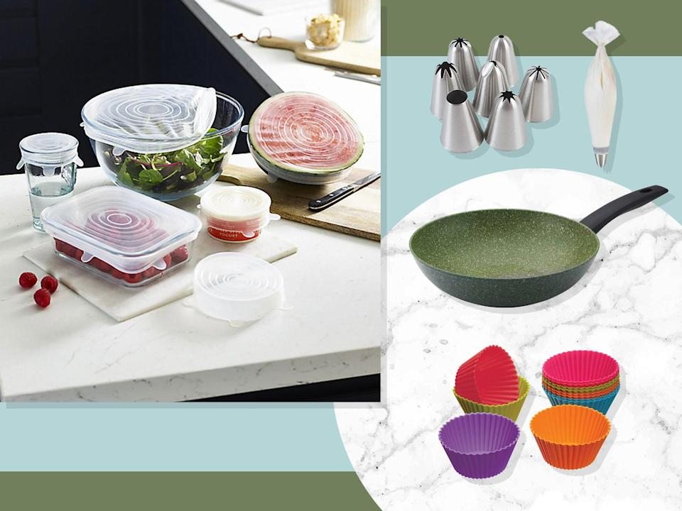 <p>We recommend plant-based pans, silicone serving cases and more simple switches</p> (iStock/The Independent)
