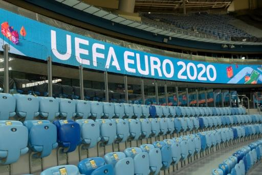 The Gazprom Arena in Saint Petersburg, which will host matches at Euro 2020, including a quarter-final