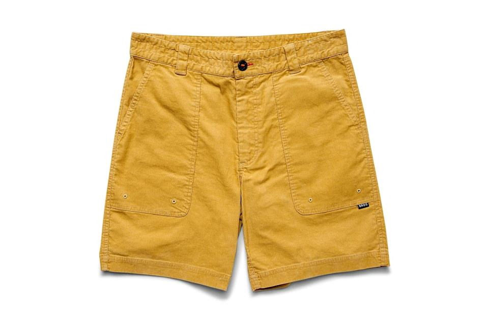 "$69, Huckberry. <a href=""https://huckberry.com/store/howler-brothers/category/p/64749-cornerstone-corduroy-shorts"" rel=""nofollow noopener"" target=""_blank"" data-ylk=""slk:Get it now!"" class=""link rapid-noclick-resp"">Get it now!</a>"