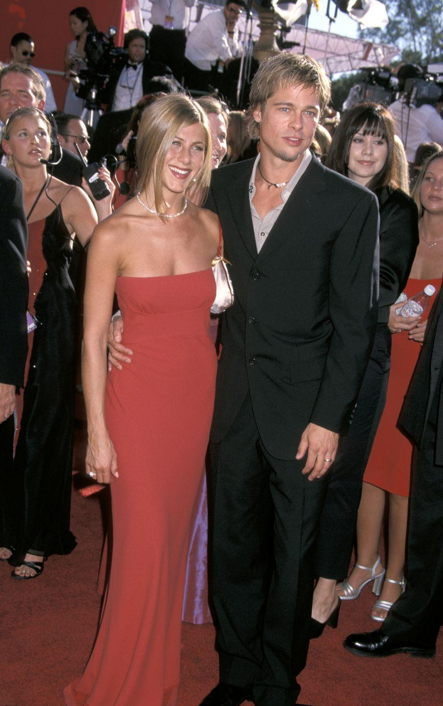 <p>Everyone's favorite celebrity couple at the time finally tied the knot in a private ceremony at their Malibu property in July 2000. </p>