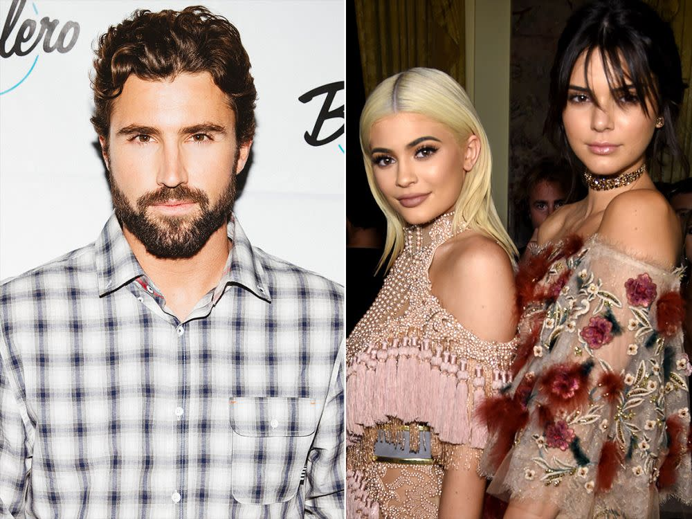 Brody Jenner; Kendall and Kylie Jenner