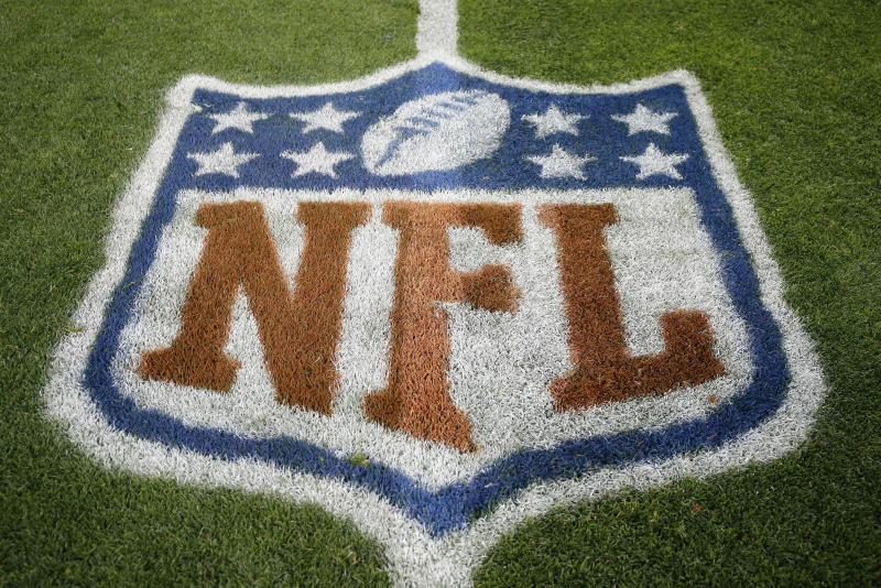 "The NFL expects that new coronavirus infections will arise, and the league is ""working very diligently"" to come up with a course of action. (AP Photo/Jack Dempsey, File)"