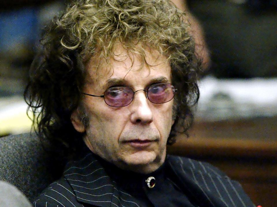 <p>Spector rose to fame working with groups in the Sixties such as The Ronettes and The Crystals</p> (Rex Features)