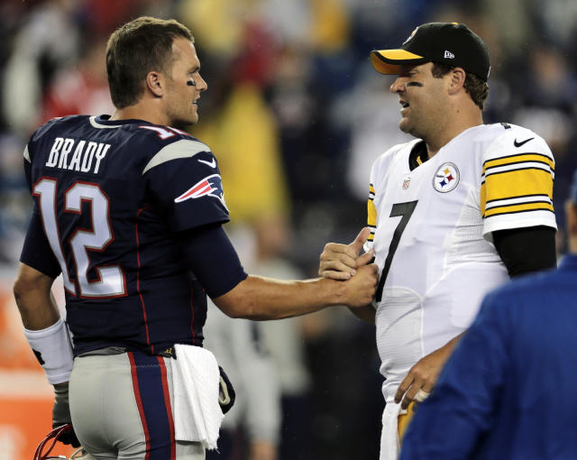 Tom Brady is 10-2 for his career against the Steelers. (AP Foto/Charles Krupa, Archivo)