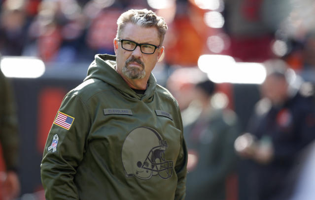 Gregg Williams, fired by the Cleveland Browns, will reportedly be hired by the New York Jets as defensive coordinator. (AP)