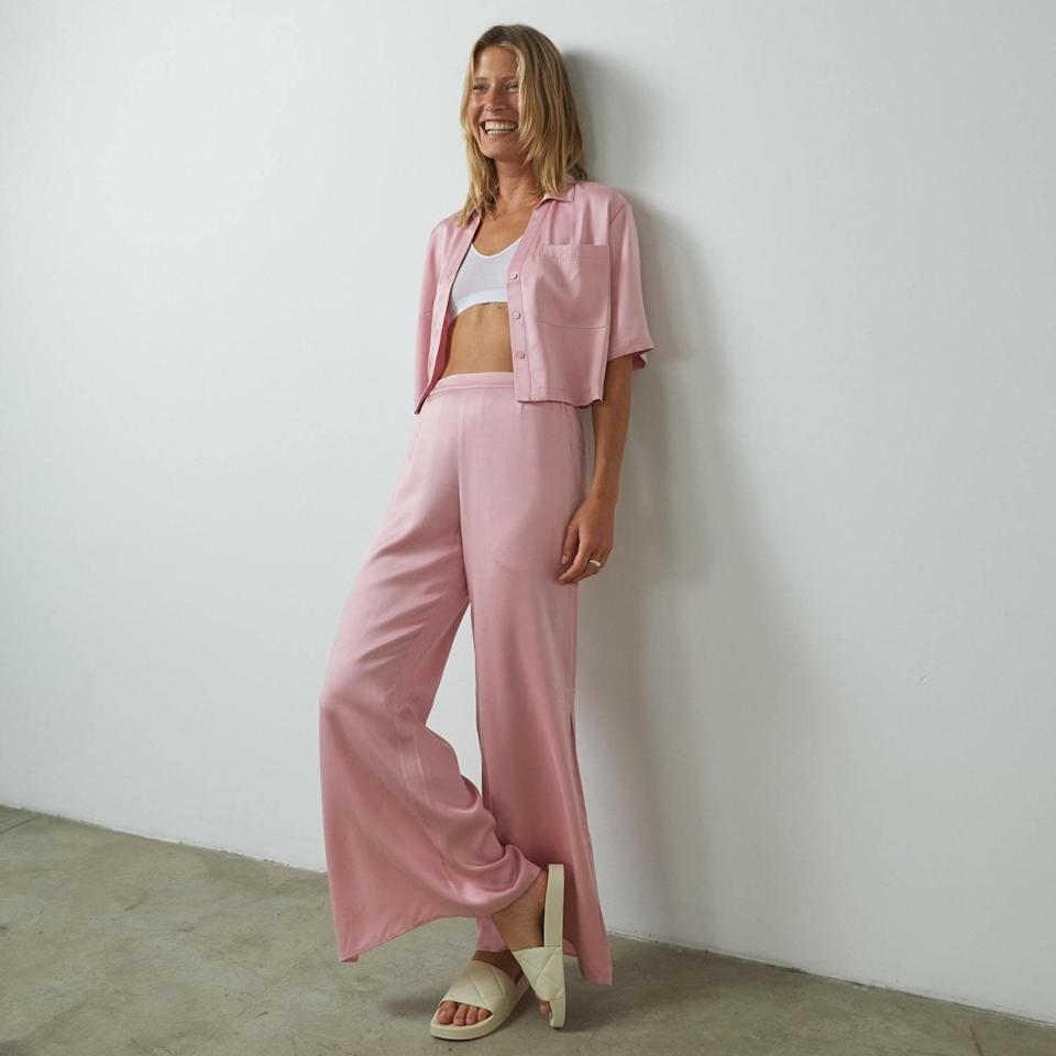 <p>Silk pajamas aren't just a dream anymore. Thanks to this <span>Lunya Washable Silk High Rise Pant Set</span> ($258), they can now be your reality.</p>