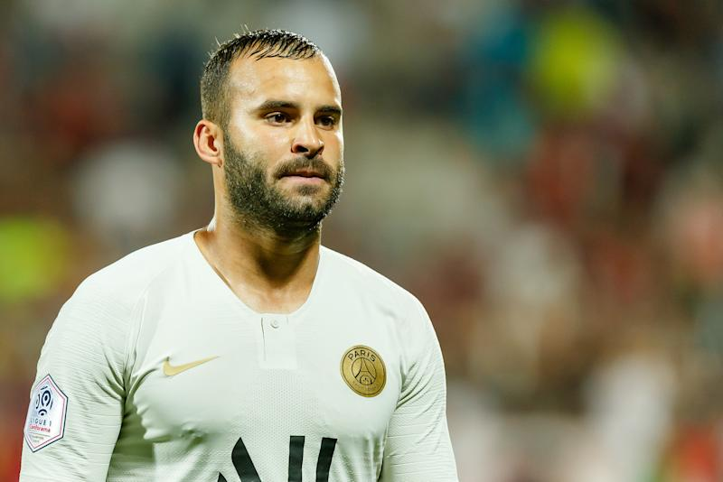 METZ, FRANCE - AUGUST 30: Jese Rodriguez Ruiz of Paris Saint Germain looks on during the Ligue 1 match between FC Metz and Paris Saint-Germain at Stade Saint-Symphorien on August 30, 2019 in Metz, France. (Photo by TF-Images/Getty Images)