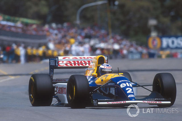 "1993: Williams-Renault FW15C <span class=""copyright"">LAT Images</span>"