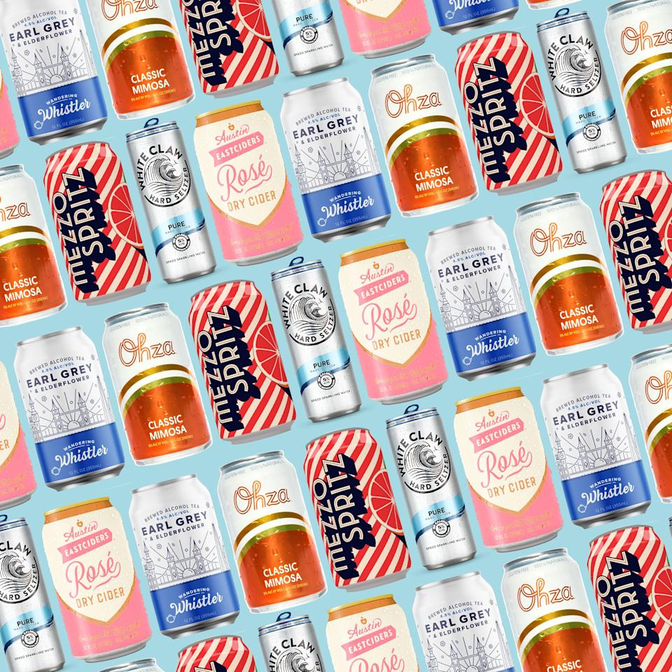 "<p>I've said it before and I'll say it again: Alcoholic beverages just taste <em>better</em> out of an Instagrammable aluminum can. It's a fact. And <a href=""https://www.delish.com/food-news/g25228212/best-canned-wines/"" target=""_blank"">while canned wine has been having a moment</a>, ready-to-drink cocktails are *so* much better—and boozier! From aperol spritz to mimosas, here are our favorites.</p>"