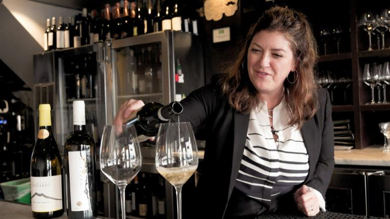 Tariffs on wine from France, Spain and Germany have hurt business already, and it could get worse if the US follows through on a threat to increase the penalties and extend them to other countries (AFP Photo/Virginie GOUBIER)
