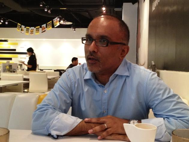 Former journalist Cherian George, the academic whose tenure rejection by the Nanyang Technological University (NTU) caused much backlash against the institution last year, accepted a position in Hong Kong last August. (Yahoo! file photo)