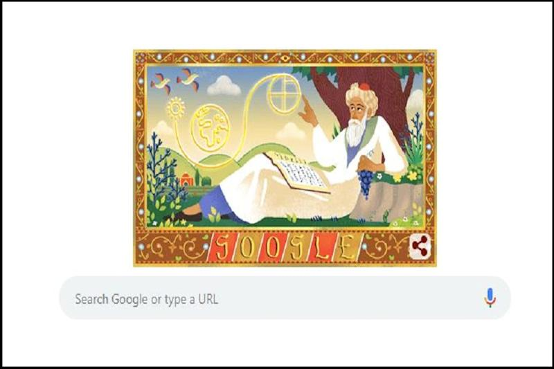 Omar Khayyam, Mathematics and Astronomy Ingenuous, Honoured by Google Doodle on His 971st Birth Anniversary