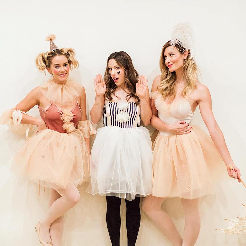 "<p>The designer and her friends went as pastel circus performers — otherwise known as not-so-creepy clowns — in getups sweet enough for her latest clothing collection. (Photo: <a rel=""nofollow"" href="" https://www.instagram.com/p/BLwCCsEjS5c/?taken-by=laurenconrad_com"">Instagram)</a> </p>"