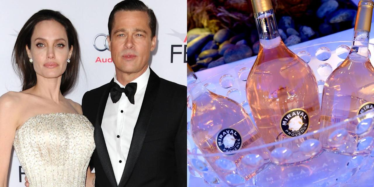 """<p>The former couple has co-owned the rosé company with the Perrin family since 2012 and along the way have produced many award-winning wines. Later this year, for example, they'll be releasing a $390 rosé Champagne called Fleur de Miraval, which Brad discussed in <em><a href=""""https://people.com/food/brad-pitt-fleur-de-miraval-rose-champagne-exclusive/"""" target=""""_blank"""">People Magazine</a></em>. Other bottles of their rosé, however, won't cost you quite as much.</p><p>""""Miraval isn't a 'celebrity' wine for me,"""" he told the outlet. """"Above all, it's a wonderful, exceptional estate that I fell in love with, and that I continue to invest in to make it one of the finest estates in Provence.""""</p><p><a class=""""body-btn-link"""" href=""""https://go.redirectingat.com?id=74968X1596630&url=https%3A%2F%2Fdrizly.com%2Fwine%2Frose-wine%2Fmiraval-provence-rose%2Fp1678%3Fdrz_lat%3D29.314347%26drz_lng%3D-81.771432%26drz_nhd%3DFL%26drz_sids%255B%255D%3D3895%26p%3D19.98%26s%3Dtrue%26variant%3D14528&sref=https%3A%2F%2Fwww.redbookmag.com%2Ffood-recipes%2Fg34171716%2Fcelebrity-alcohol-brands%2F"""" target=""""_blank"""">BUY NOW</a> <em><strong>$19.99, drizly.com</strong></em></p>"""