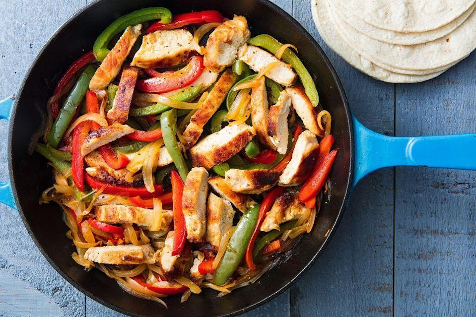 """<p>You don't have to drop major dough to make something delicious for dinner—save money by choosing cheaper proteins like <a href=""""https://www.delish.com/cooking/recipe-ideas/g2972/chicken-weeknight-dinners/"""" rel=""""nofollow noopener"""" target=""""_blank"""" data-ylk=""""slk:chicken"""" class=""""link rapid-noclick-resp"""">chicken</a>, <a href=""""https://www.delish.com/cooking/g1703/ground-beef-dishes/"""" rel=""""nofollow noopener"""" target=""""_blank"""" data-ylk=""""slk:ground beef"""" class=""""link rapid-noclick-resp"""">ground beef</a>, and <a href=""""https://www.delish.com/cooking/g2159/tilapia-recipes/"""" rel=""""nofollow noopener"""" target=""""_blank"""" data-ylk=""""slk:tilapia"""" class=""""link rapid-noclick-resp"""">tilapia</a>, or go <a href=""""https://www.delish.com/cooking/g1486/healthy-vegetarian-dinner-recipes/?gclid=EAIaIQobChMIgrWi4qny8QIVWHxvBB1u6wlLEAAYASAAEgJGw_D_BwE"""" rel=""""nofollow noopener"""" target=""""_blank"""" data-ylk=""""slk:vegetarian"""" class=""""link rapid-noclick-resp"""">vegetarian</a> with bean-based meals. Whatever your style, these delish meals will please your entire fam without breaking the bank. Need more easy eats? Try these <a href=""""https://www.delish.com/cooking/recipe-ideas/g3338/best-weeknight-dinners/"""" rel=""""nofollow noopener"""" target=""""_blank"""" data-ylk=""""slk:easy weeknight dinners"""" class=""""link rapid-noclick-resp"""">easy weeknight dinners</a> and <a href=""""https://www.delish.com/cooking/g362/slow-cooker-chicken/"""" rel=""""nofollow noopener"""" target=""""_blank"""" data-ylk=""""slk:slow-cooker chicken dinners"""" class=""""link rapid-noclick-resp"""">slow-cooker chicken dinners</a>.</p>"""