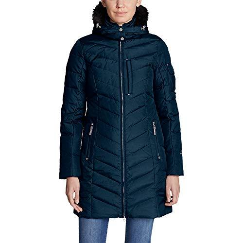 "<p><strong>Eddie Bauer</strong></p><p>amazon.com</p><p><a href=""http://www.amazon.com/dp/B077GFFRS2/?tag=syn-yahoo-20&ascsubtag=%5Bartid%7C10055.g.2273%5Bsrc%7Cyahoo-us"" target=""_blank"">Shop Now</a></p><p>This parka has everything you could want in a winter coat: 650-fill-power down that's certified by the Responsible Down Standard, a water-repellant finish, and <strong>adjustable cuffs that prevent heat from escaping</strong> through the sleeves. The fabric cover has unique dying process that gives it a subtle sheen look and there's a two-way zipper so you can open it from either end.</p><p><em>More details:<br>• </em>Mid-length<br>• 650 fill power<br>• Removable hood and faux fur trim<em></em></p>"
