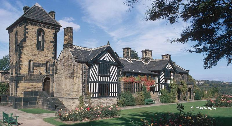 Shibden Hall is the focus of the Gentleman Jack BBC series (Getty Images)