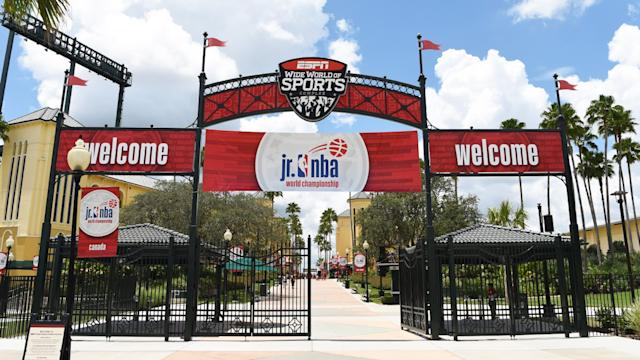 """Disney World's sports complex in Orlando, Fla. will host the MLS is Back tournament. <span class=""""copyright"""">(Disney World)</span>"""