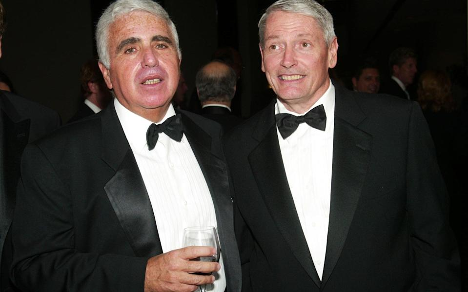 John Malone (right) - Evan Agostini/Getty Images