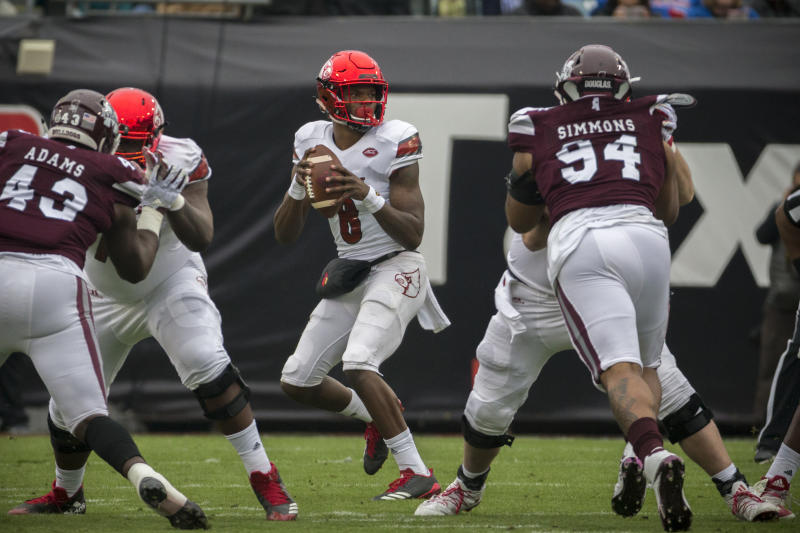 Louisville quarterback Lamar Jackson will be one of the draft's most debated players. (AP)