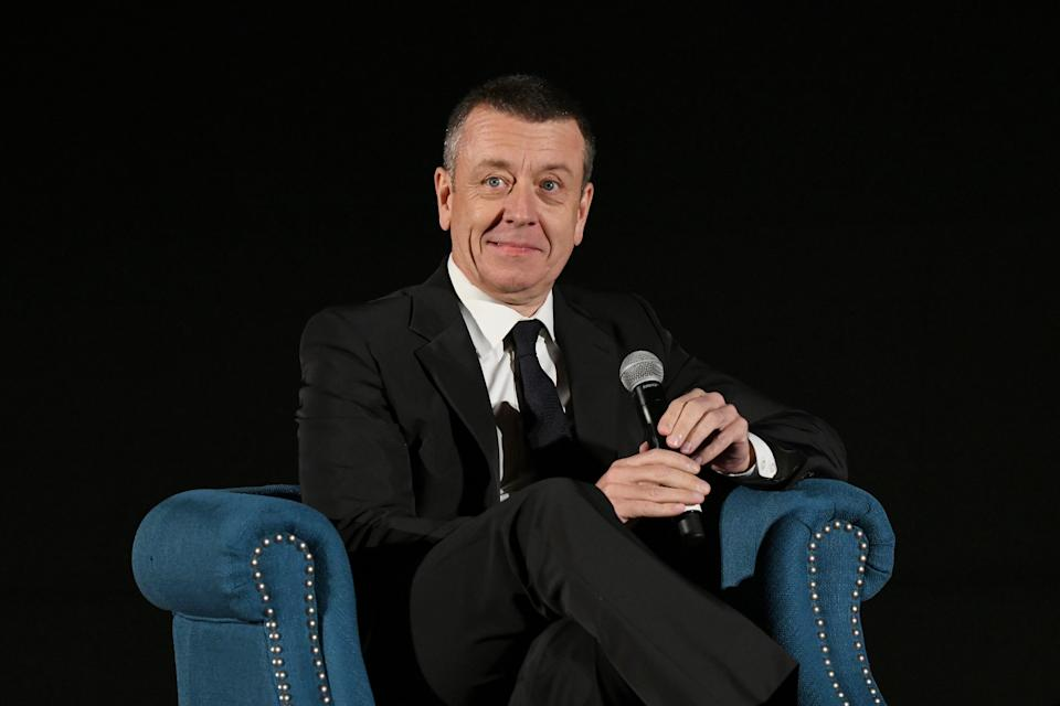 Peter Morgan, here at a tribute night in November, said he would want distance from his subjects before writing about them. (Getty Images for AFI)