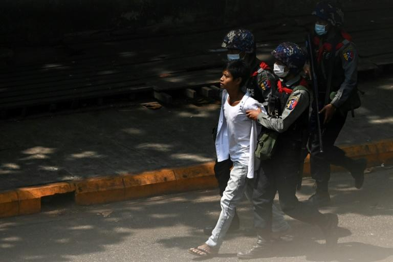 Hundreds have been detained since the Myanmar military seized power on February 1